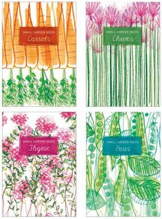 seed packet designs by ilona drew this.