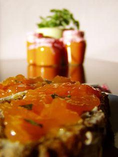 Meruňkový džem s meduňkou Caviar, Fish, Meat, Ichthys