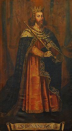 1383 - Fernando I de Portugal, nasce em Coimbra, 18.01.1367, morre em Lisboa em 22.10.1383, dito o Formoso. Filho de D. Pedro I e D. Constança Manuel, é o último rei da Dinastia Afonsina.