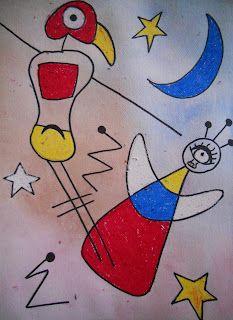Create Art With Me!: Fun With Juan Miro