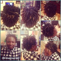 Style: Loc Retight/Maintenance  (Interlocks)  Client's Hair Type: 4a/b  Hair Added: NA  Products Used: Coiled! by Conscious Coils (Original Refresher Spray)  Time: 1hr 34mins  Style Duration: Retight every 5-7 weeks