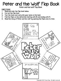 peter und der wolf h rkartei musik pinterest wolf and kindergarten. Black Bedroom Furniture Sets. Home Design Ideas