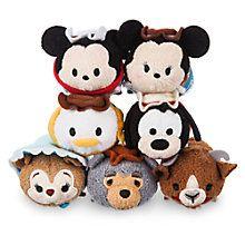 Frontierland Mini ''Tsum Tsum'' Plush Collection   Disney Store