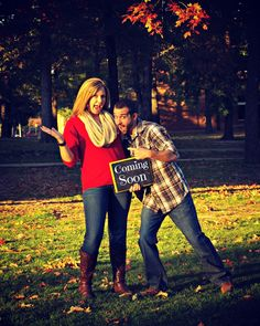 Our pregnancy announcement photos by ABC Photography by Bre. view her webpage on Facebook.