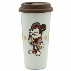 Disney Mickey Mouse Tumbler - Hipster Mickey | Disney Store on Wanelo