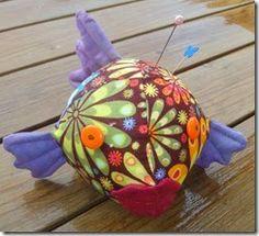blowfish pin cushion