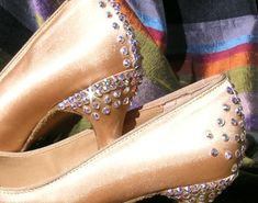 Ballroom Dancing Shoes by beadjewellery on Etsy, $190.00