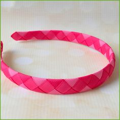 Gather your crafting supplies and join us for some fun on the blog! Zig Zag Woven Headband