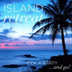 How about an island retreat theme?