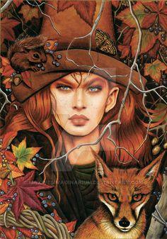 Amber Witch by Maxine Gadd ~•º•~>¡<•º•>!<•º•>¡<~•º•~