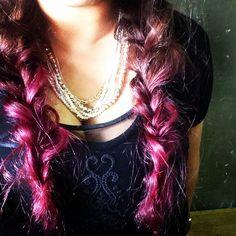 @collagucibo - #マニパニ#パープル#フィッシュボーン#紫#個性派#大人なのに若作り#しばらくこれで行きます - EnjoyGram