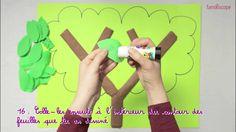 Video pour les enfants, pour apprendre à fabriquer un arbre généalogique