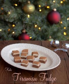 Tiramisu Fudge, low carb fudge, healthy fudge, ketogenic fudge, ketogenic chocolate, low carb chocolate, healthy chocolate, fudge, sugar free fudge