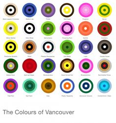 The colour of Vancouver...