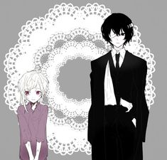 Your past never defines your future. Atsushi was a scared little orphan. Dazai was a cold-hearted mafia. Now they work together to protect the city and save people's lives. Dazai Bungou Stray Dogs, Stray Dogs Anime, Beautiful Disaster, Dazai Osamu, Angel Of Death, Rwby, Anime Guys, Cute Pictures, Fan Art