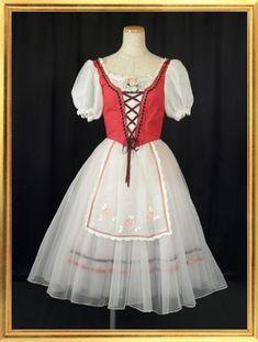 バレエ衣装のレンタルとオーダーメイドのチュチュリエ コスチューム 村娘
