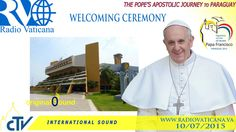 Pope Francis in Paraguay-Welcome Ceremony to Paraguay