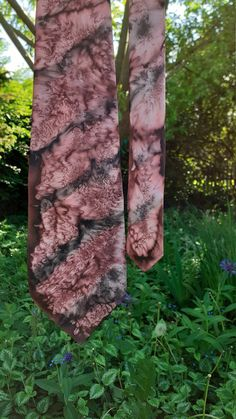 Fathers day SILK necktie, Handpainted 100% SILK, tie, Mauve Black, unique gift father, giftpackaged, personal gift, video, ready to ship:-) Gifts For Father, Fathers Day, Gift Envelope, Neckerchiefs, You Are The Father, Silk Ties, Special Gifts, Mauve, Personalized Gifts