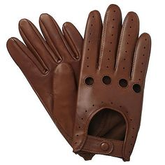 NEW MENS DRIVING GLOVES SHEEP NAPPA LEATHER PADDED PALM DRESS VINTAGE FINGERLESS