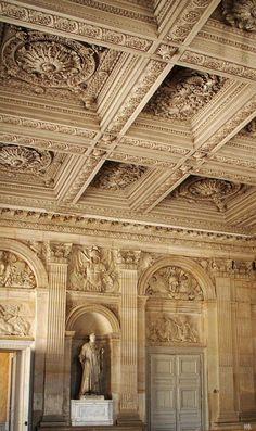 Interior details. Chateau de Versailles. - STYLE DECORUM http://www.styledecorum.com/