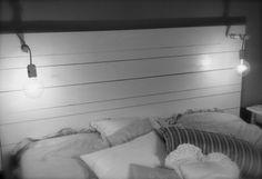 sänggavel vit
