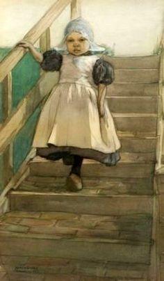 Little Dutch Girl  Marcia Oakes Woodbury (1865 – 1913)