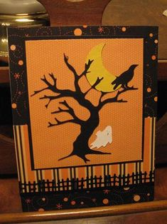 Halloween cricut card by joni710 - Cards and Paper Crafts at Splitcoaststampers