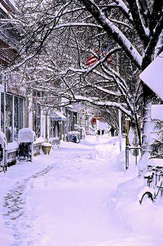 ✯ Winter in Ocean Grove, New Jersey