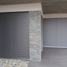 Venkovní žaluzie - realizace Hustopeče Blinds, Curtains, Home Decor, Decoration Home, Room Decor, Shades Blinds, Blind, Draping, Home Interior Design