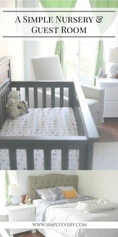 nursery & guest room