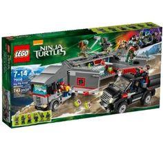 LEGO Teenage Mutant Ninja Turtles 79116   Kids Cool Toys UK