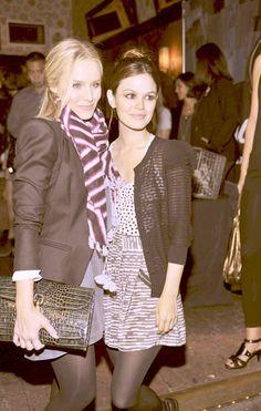 Kristen Bell and Rachel Bilson.Style Icons.