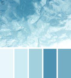 Blue Colour Palette, Blue Color Schemes, Beach Color Palettes, Room Colors, House Colors, Pintura Exterior, Pallet Painting, Color Harmony, Design Seeds
