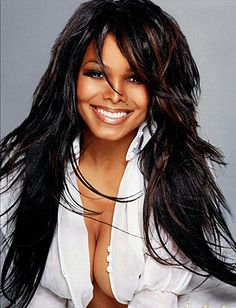 Janet Jackson...love this hair cut!