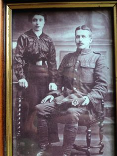 Alexander Mathieson who served the entire war with the 1st Cameronians.  From: www.facebook.com/FredsWar