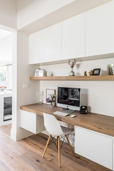 49 Stunning Small Home Office Furniture Design Ideas Home Office Furniture Design, Home Office Space, Office Interior Design, Home Office Decor, Office Interiors, Interior Design Inspiration, Home Decor, Office Ideas, Office Table
