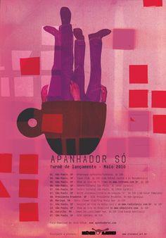 Apanhador Poster (2012) by Rodrigo Sommer, Graphic Designer, São Paulo, Brazil. | http://media.typographicposters.com/rodrigo-sommer/m/apanhador.jpg