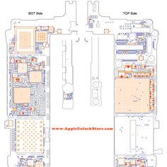AppleUnlockStore :: SERVICE MANUALS :: iPhone 6S Plus Circuit Diagram Service Manual Schematic Схема