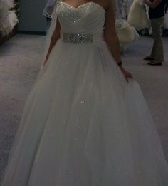 Alfred Angelo Disney Fairytale Wedding Dress Cinderella style 205.  Found on Weddingbee.com