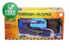 THERMA.SCAPERS Decorative Warming Stones For the first time, a line of warming stones natural enough to instantly landscape any reptile environment. Four sizes provide comfort and beauty for reptiles from small lizards to iguanas and monitors. $7.99 Buy Now! http://www.luckypetdeals.com/deals/yZ6ciged/therma-scapers-decorative-warming-stones.html