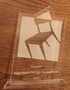 2017 High Desert Design Competition Award