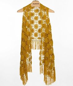 Daytrip Crochet Vest - Women's Vests | Buckle