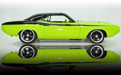1973 Dodge Challenger.  What can I say except WOW!!!