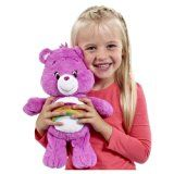Care Bears Medium Plush Assortment with DVD (styles and colours vary)