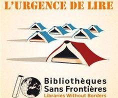 l'urgence de lire, bibliothèques sans frontières, libraries without borders