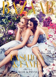 Dannii Minogue and Kylie Minogue - Harper's Bazaar Magazine Cover [Australia] (December V Magazine, Fashion Magazine Cover, Fashion Cover, Fashion Show, Magazine Covers, Trendy Fashion, Magazine Stand, Design Magazine, High Fashion