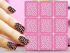 Best 25+ Nail Polish Stickers Ideas On Pinterest | Matte Purple ... with