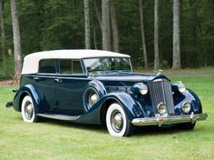 1937 Packard Super Eight - Super Eight Convertible Sedan | Classic Driver Market