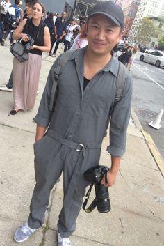 Street-styling man: Tommy Ton in Zara, September 2014