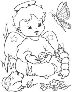 Classic Christmas Coloring Pages | coloring books and embroidery ...